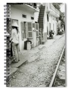 Daily Life In Hanoi Spiral Notebook