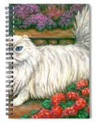 Dainty The Cat Spiral Notebook