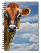 Dairy Cow  Bessy Spiral Notebook