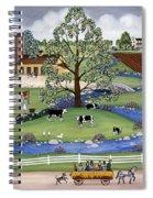 Dairy Farm Spiral Notebook