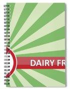 Dairy Free Banner Spiral Notebook
