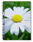 Daisey Flower - Looks Like A Painting Spiral Notebook