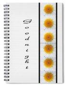 Daisies Goodnight Spiral Notebook