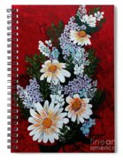 Daisies Lilacs And Forget Me Nots Spiral Notebook