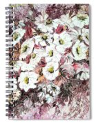 Daisy Blush Remix Spiral Notebook
