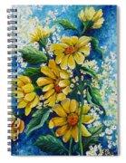 Daisy Breath Spiral Notebook