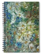 Daisy Chain Spiral Notebook