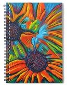 Daisy Chain Reaction Spiral Notebook