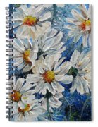 Daisy Cluster Spiral Notebook