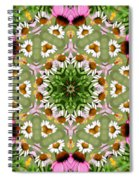Daisy Daisy Do Kaleidoscope Spiral Notebook
