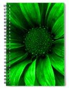 Daisy Daisy Neon Green Spiral Notebook