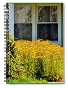 Daisy Entrance Spiral Notebook