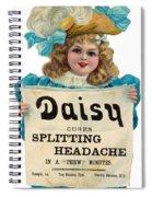 Daisy Headache Cure Spiral Notebook