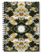 Daisy Kaleido 1 Spiral Notebook