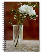 Daisy Mum On Red 2 Spiral Notebook