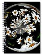 Daisy Sphere Spiral Notebook