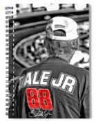 Dale Jr Spiral Notebook