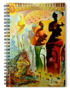 Dali Oil Painting Reproduction - The Hallucinogenic Toreador Spiral Notebook