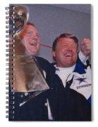 Dallas Cowboys 1992 National Football League Champions Spiral Notebook
