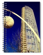 Dallas Museum Tower Spiral Notebook