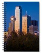 Dallas Skyline Spiral Notebook