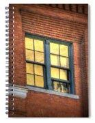 Dallas Window Spiral Notebook