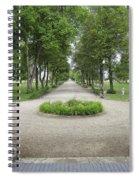 Daly Mansion Entrance - Montana Spiral Notebook