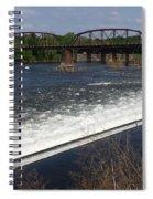 Dam And Rail Runs Spiral Notebook