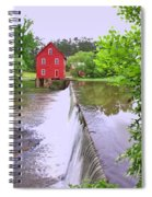 Dam At Starrs Mill Spiral Notebook