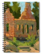 Dam Watcher's Old Home Spiral Notebook