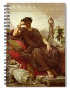 Damocles Spiral Notebook