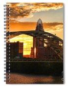 Dan C Beard Bridge 9917 Spiral Notebook