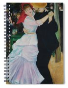 Dance At Bougival Renoir Spiral Notebook