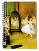 Dance Class 2 Spiral Notebook