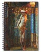 Dance De Salome Spiral Notebook