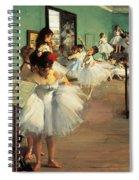 Dance Examination Spiral Notebook