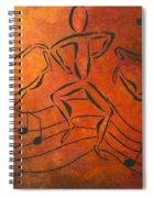 Dance Fever Spiral Notebook