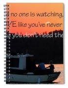 Dance Love Work 21037 Spiral Notebook