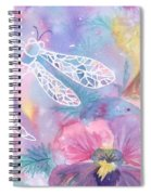 Dance Of The Dragonfly Spiral Notebook