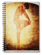 Dance Of The Fool Spiral Notebook