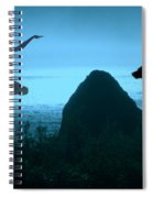 Dance Of The Sea Spiral Notebook