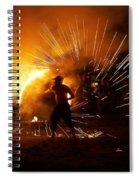 Dance On Fire Spiral Notebook