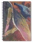 'dance Over Me' Spiral Notebook