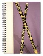 Dance Sticks Spiral Notebook