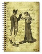 Dance The Minuet With Me Spiral Notebook