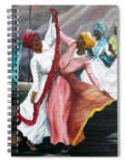 Dance The Pique  2 Spiral Notebook