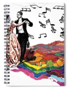Dance Till The End Of Time Spiral Notebook