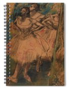 Dancer In The Wing Spiral Notebook