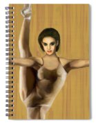 Dancer Spiral Notebook