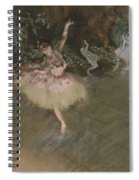 Dancer Taking A Bow  Spiral Notebook